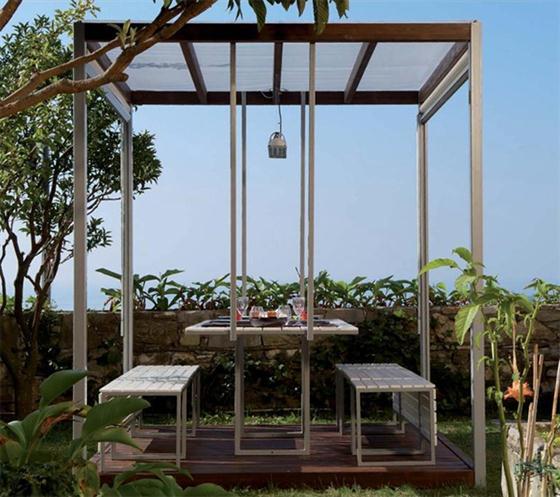 Al Fresco Gazebo Canopies Kuba Modern Gazebo Design Ideas on a Garden