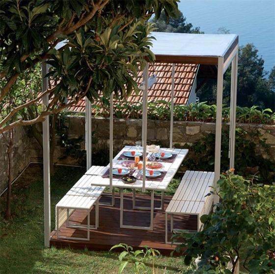 Al Fresco Gazebo Canopies Kuba Modern Gazebo Design Ideas