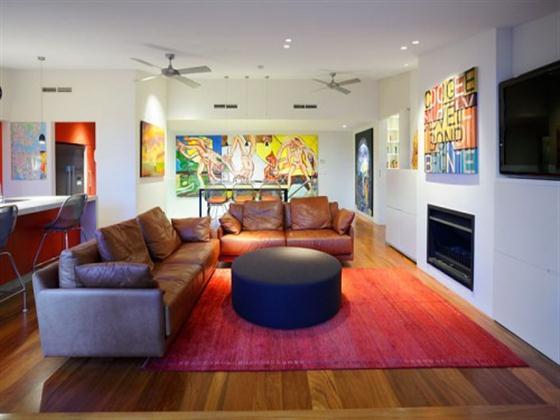 Amazing Modern Penthouse A Dream Home Design Living Room