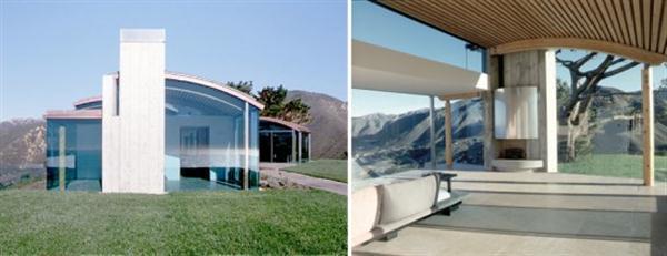 Amazing and Minimalist Beach House exterior Design in California