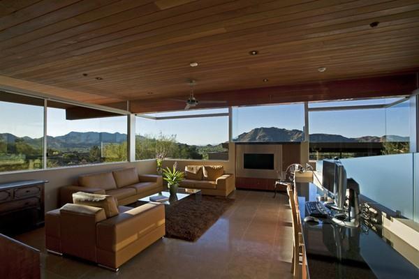 Amazing livingroom Design with Wonderful Landscape