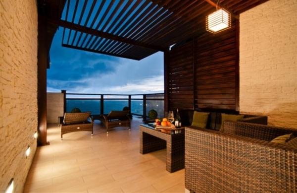 Apartment design ideas with Cool Interior and amazing terrace