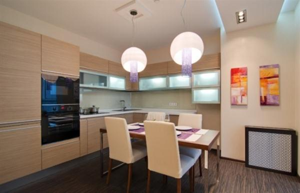 Apartment with simply and Cool kitchen Design Ideas