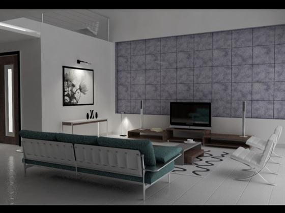 Artistic Intellectual and Calm Living Rooms