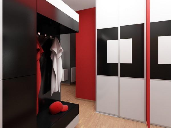 Attractive Apartment Design by Neopolis unique shelves
