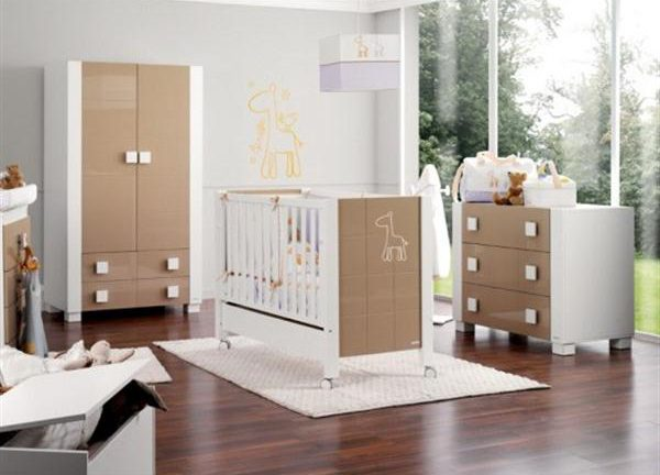 Attractive Babies Room Furniture Design with Lovely Giraffe Themes chocolate