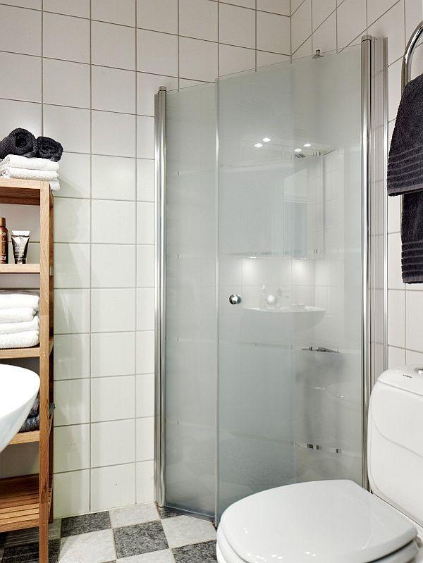 Attractive Remodeled Swedish Apartment bathroom design ideas