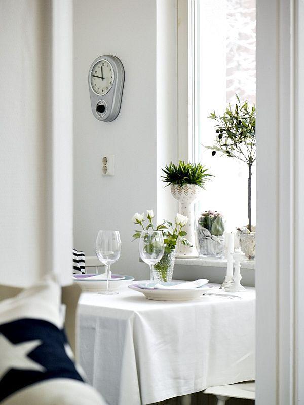 Attractive Swedish dinning table decor inspiration