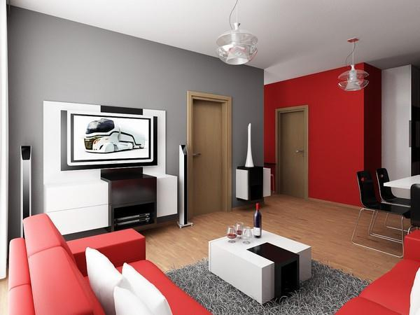 Attractive and Contemporary mainroom Apartment Design by Neopolis