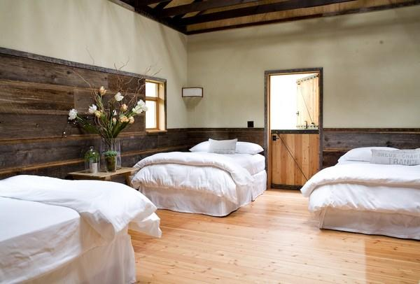 Attractive and Eye catching Wooden Home Design by Shed bedroom