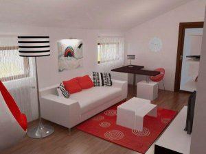 Attractive and Unique Bedroom Design with cozy corner