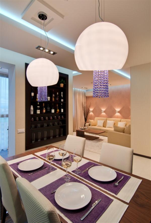 Awesome Apartment with Cool dinning table Decoration Ideas