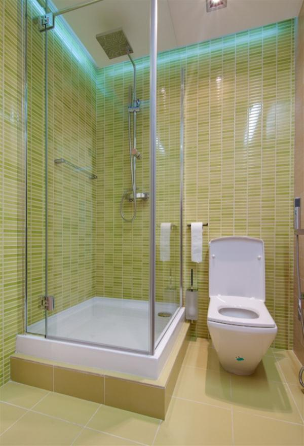 Awesome Apartment with Cute and bright bathroom Design Ideas