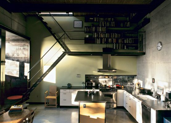 Awesome Cool Space Saving under Staircase Design