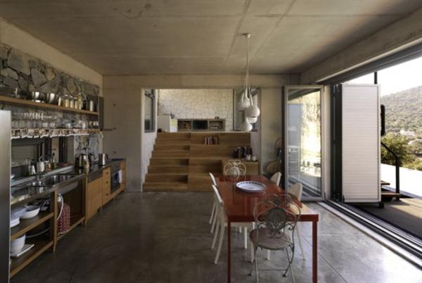 Awesome and Creative Home with open kichen and dinning room design