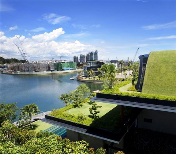 Awesome and Unusual Home Design with amazing view