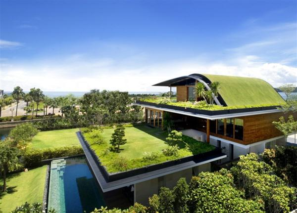 Awesome and Unusual terrace Home Design by Guz Architects