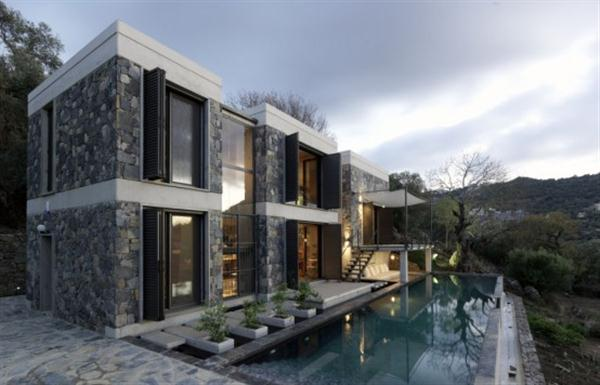 Awesome and Creative Home Design with Amazing View in Turkey