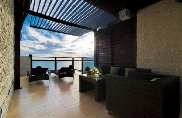 Awesome and wonderful terrace Apartment Design Ideas