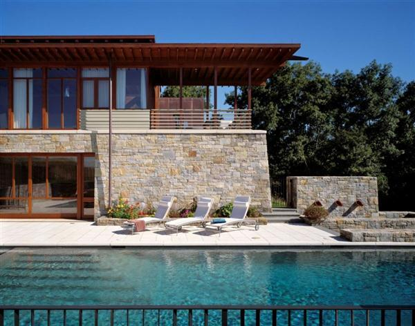 Awesome pool and terrace Home Design Inspiration from Connecticut