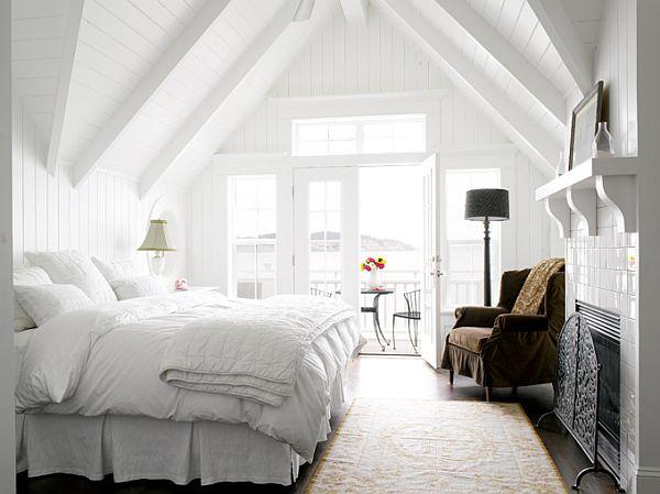 Beautiful Beach House bedroom Design in Whidbey Island