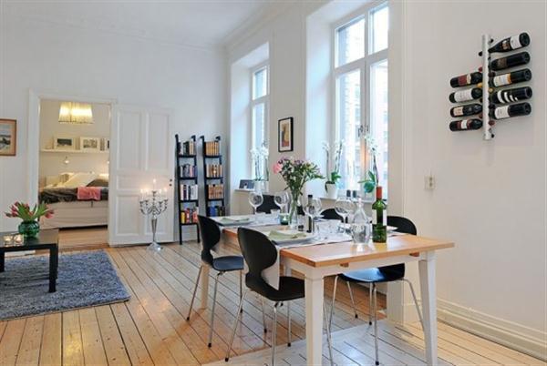 Beautiful Scandinavian dinning table Design Inspiration