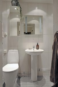 Beautiful and Luxurious Scandinavian Bathroom Design Inspiration