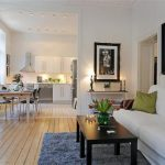 Beautiful and Luxurious White Apartment Design Inspiration