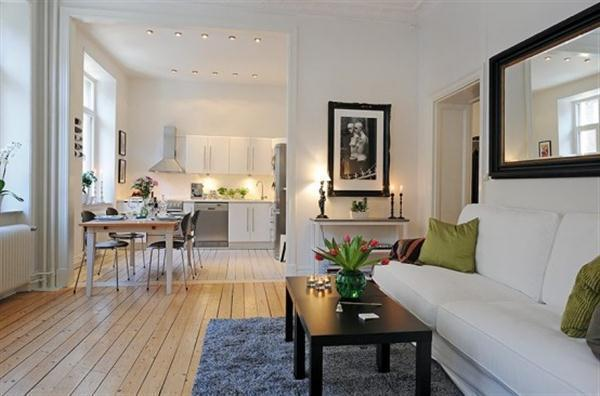 Beautiful and Luxurious Scandinavian Apartment Design Inspiration