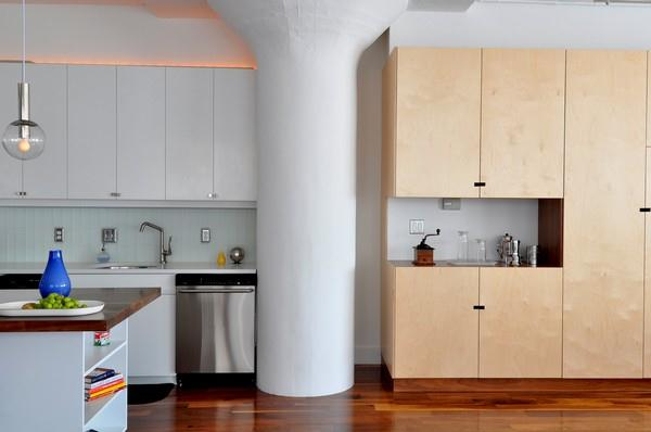 Beautiful and Stylish Wooden kitchen Design by ONY Architecture