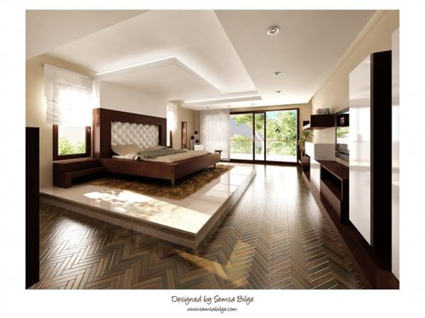 Bedroom Design with stylish and beautiful concept by Semsa Bilge