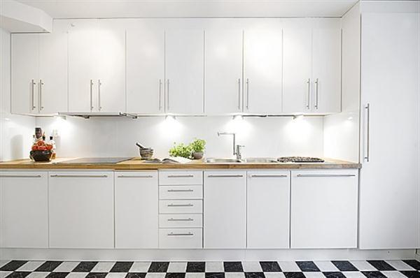 Bright and Creative Sweden Apartment Interior Design Inspiration cupboard