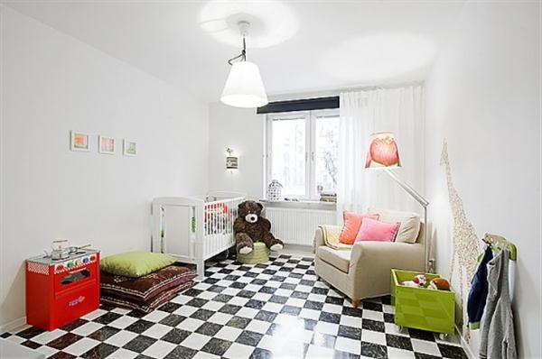Bright and Creative Sweden kidsroom Design Inspiration