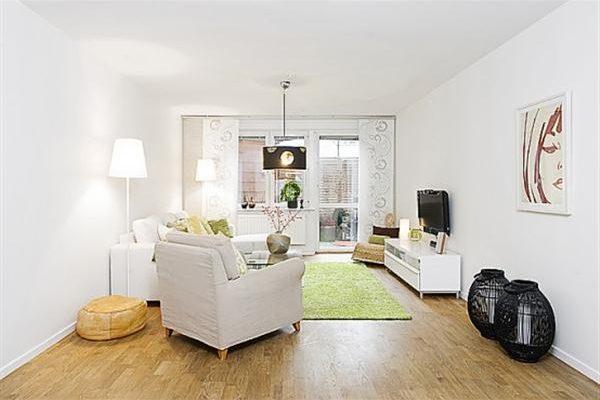 Bright and Creative Sweden Apartment Interior Design Inspiration