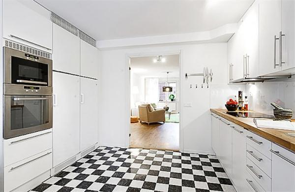 Bright and Creative white Apartment Interior Design Inspiration