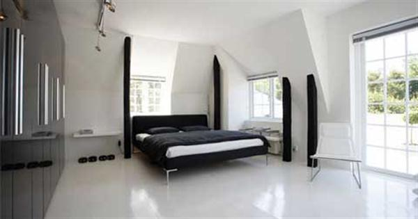 Bright and Simply Bedroom Design for Contemporary House
