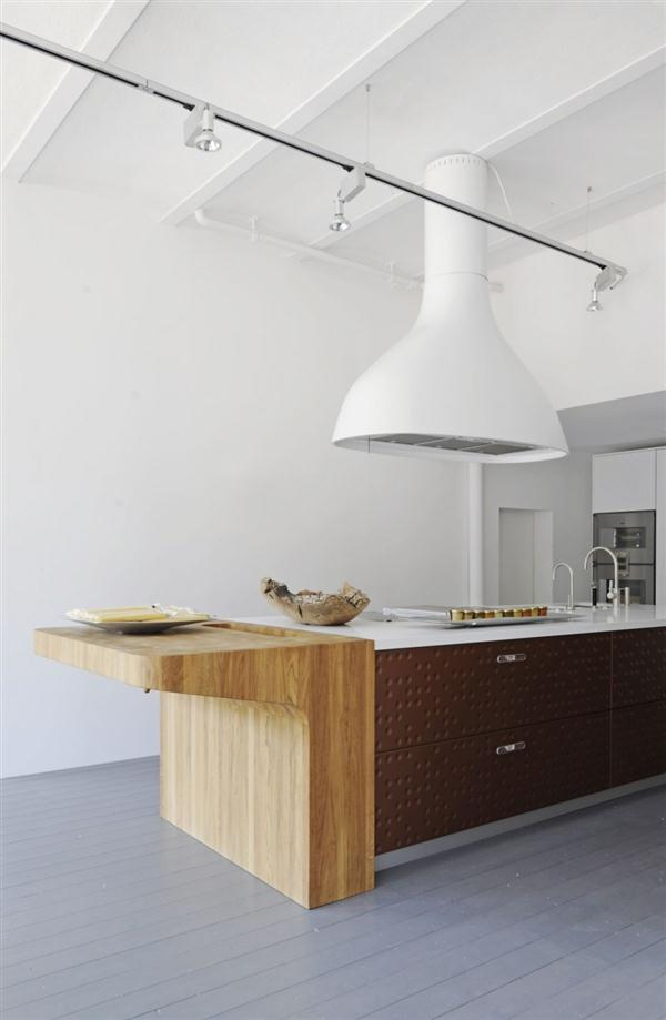 Bright and Unique Italian Kitchen Design Inspiration with creative shelfes motive