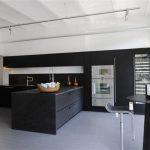 Bright and Unique Italian black white Kitchen Design Inspiration