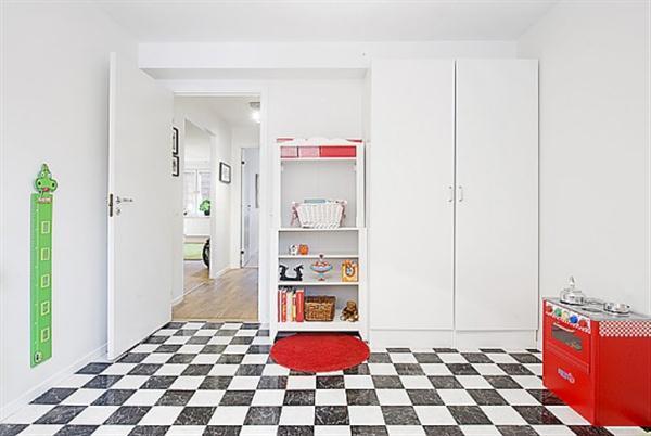 Bright and clean Sweden Apartment Interior Design Inspiration