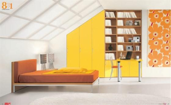 Bright and sunny Kids Bedroom Decorating Ideas