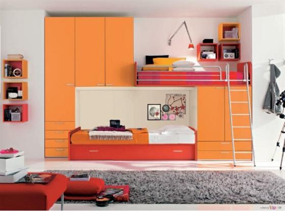 Bunker for Kids Bedroom Decorating Ideas