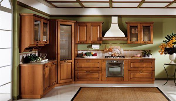 Classic and Luxurious Kitchen Design Inspiration brown wood
