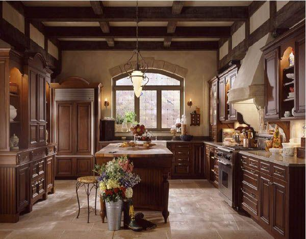 Classic and Luxurious Kitchen Design Inspiration glamour