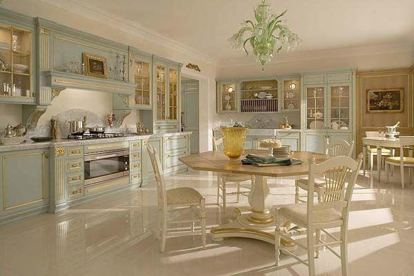 Classic and Luxurious Kitchen Design Inspiration gold