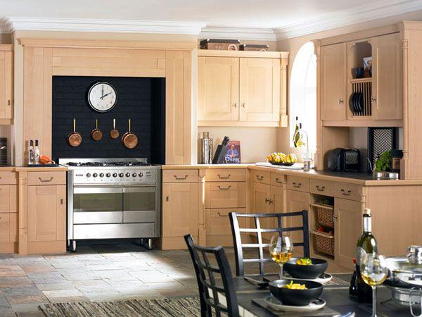 Classic and Luxurious Kitchen Design Inspiration traditional simple