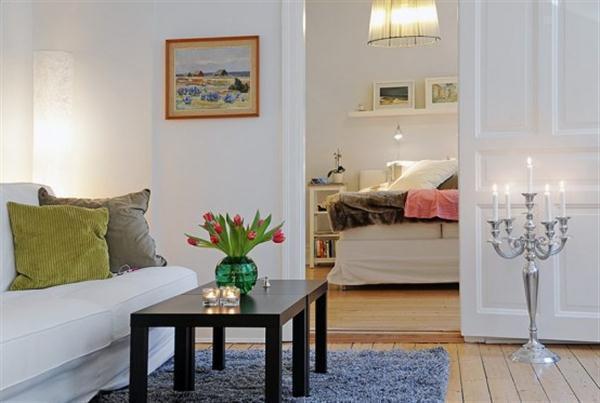 Classical Scandinavian Apartment Design Inspiration