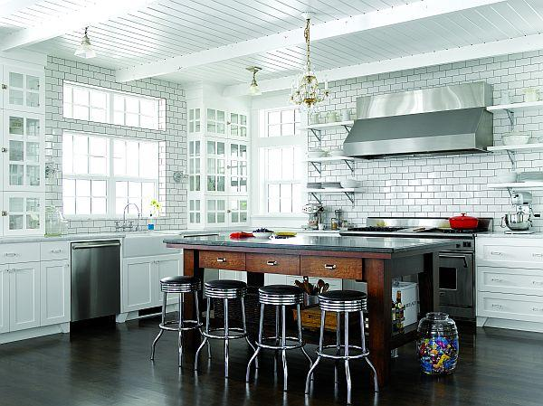Classical kitchen Design in Whidbey Island Washington