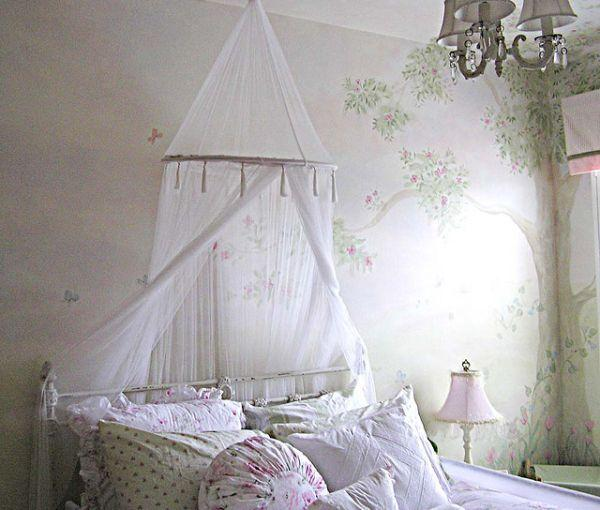 Colorful and Attractive Wall Mural Decorating Ideas at teens room