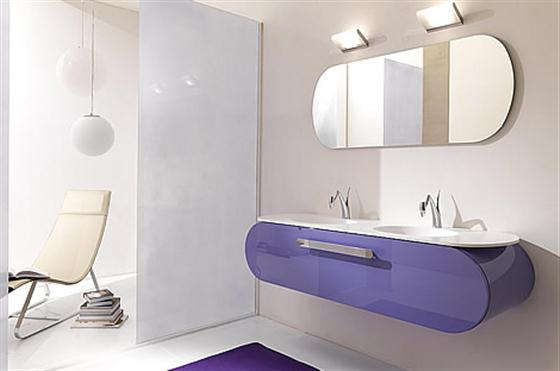 Colorfull and Cute Bathroom Furniture Sets Ideas