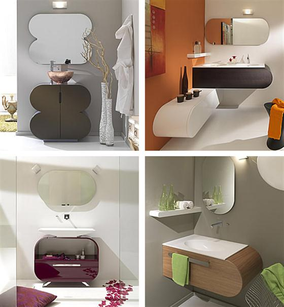 Colorfull and Cute Bathroom Furniture Sets Ideas modern themes